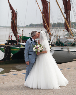 Andrea Known As DD Greig And John Lewis Held Their Ceremony At St Marys Church Maldon And