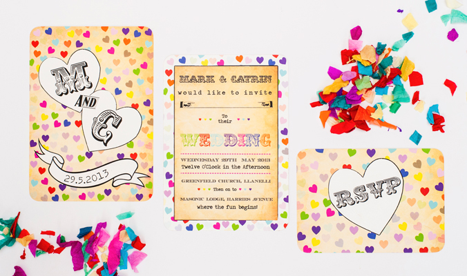 Wedding stationery can be a truly fun part of the wedding planning