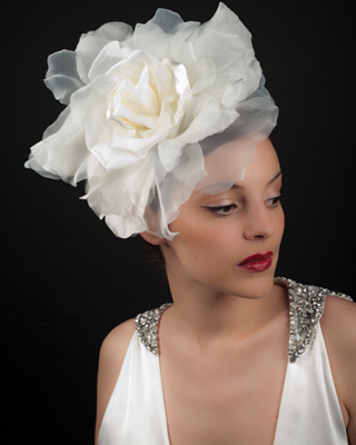 Vivien Sheriff's luxury bridal headwear
