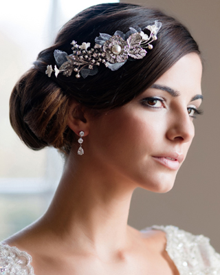 Bridal Headpieces Blooming with Romance and Vintage Glamour